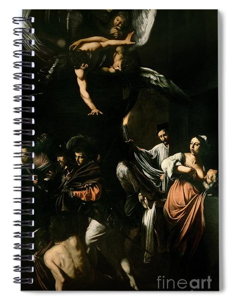 The Seven Works Of Mercy Spiral Notebook
