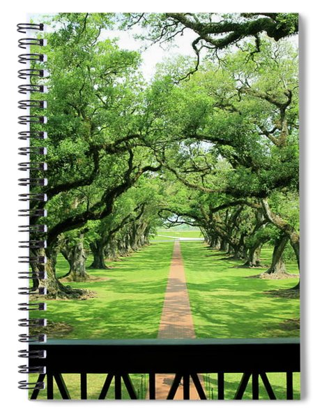 The Shade Of The Oak Tree Spiral Notebook