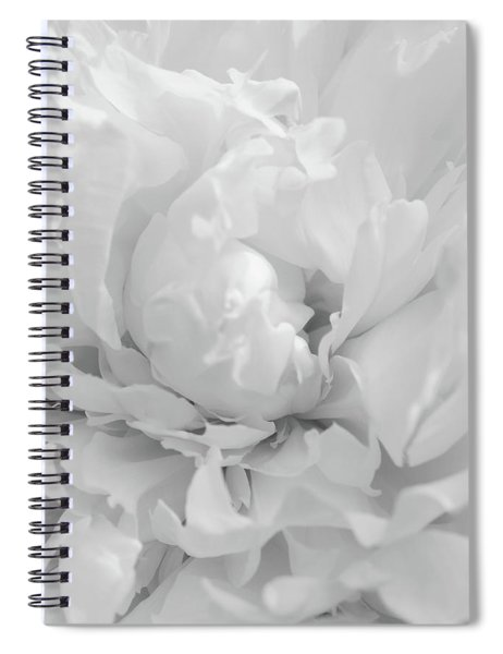The Shades Of White Spiral Notebook
