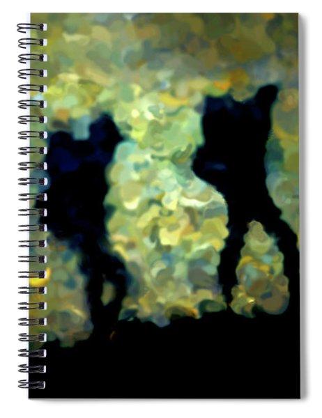 The Shadowalkers Spiral Notebook