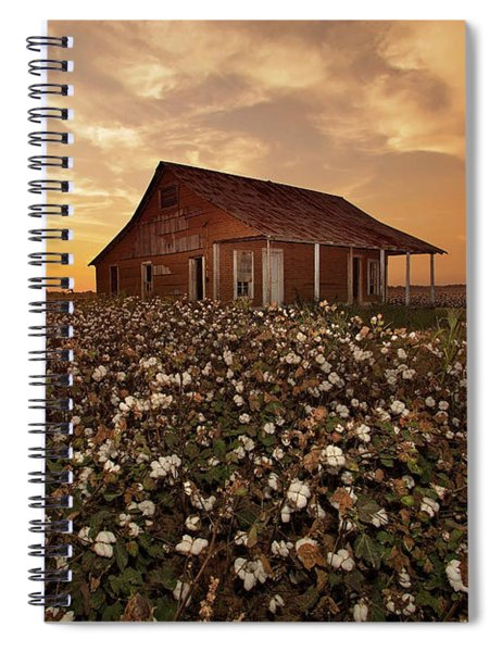 The Sharecropper Shack Spiral Notebook
