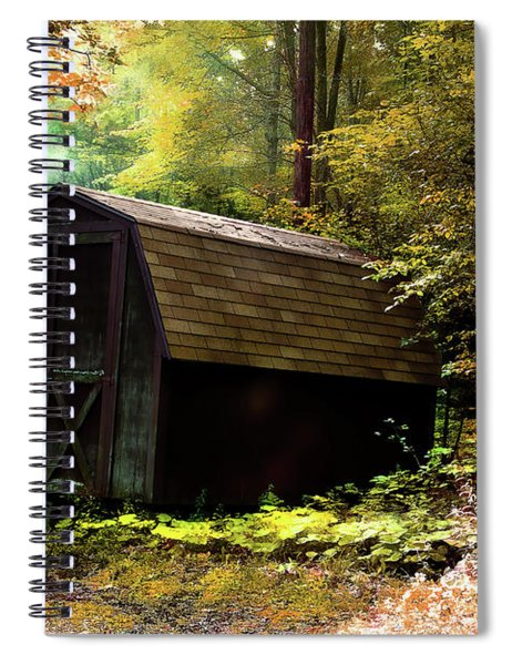 The Shed Spiral Notebook