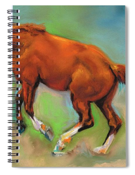The Sheer Joy Of It Spiral Notebook