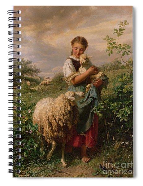 The Shepherdess Spiral Notebook