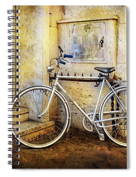 The Shinning Elite Bicycle Spiral Notebook