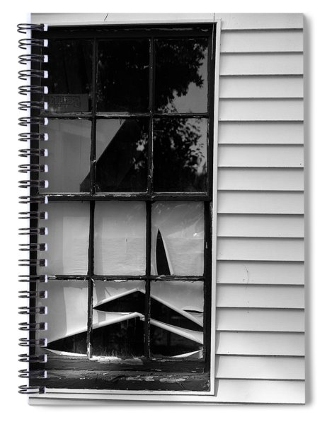 The Shredded Shade Spiral Notebook