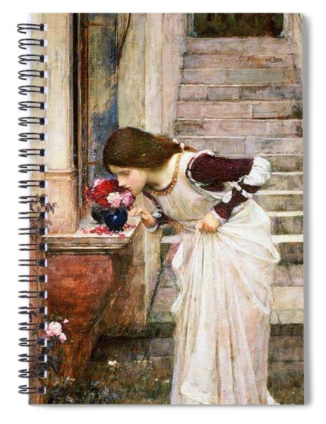 The Shrine Spiral Notebook