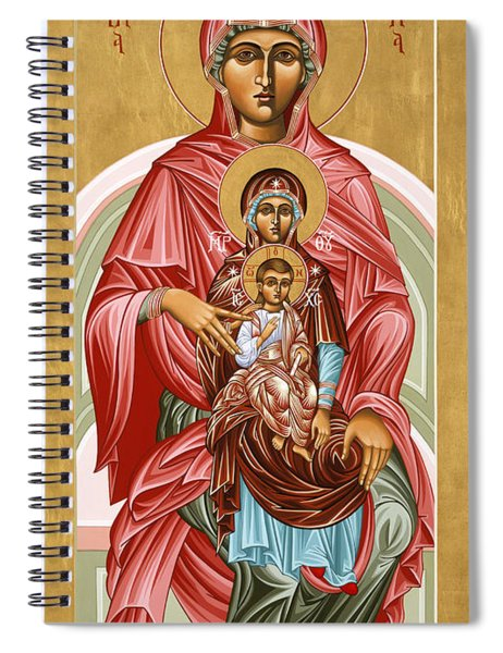 The Shrine Of St Anne 058 Spiral Notebook