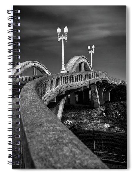 The Sierra Vista Bridge Of Roseville Spiral Notebook