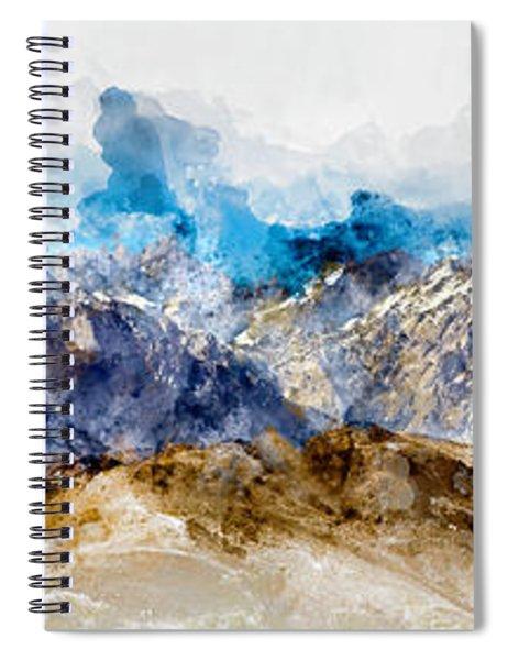 The Sierras Spiral Notebook