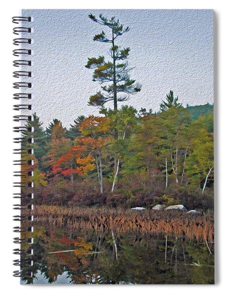 The Silence Before Dusk Meta Spiral Notebook