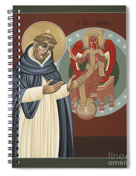 The Silence Of St Thomas Aquinas 097 Spiral Notebook