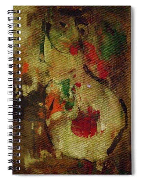 The Silent Lamb Spiral Notebook