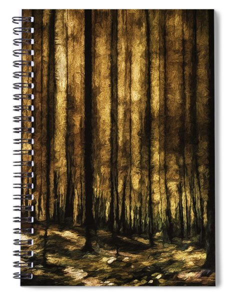 The Silent Woods Spiral Notebook