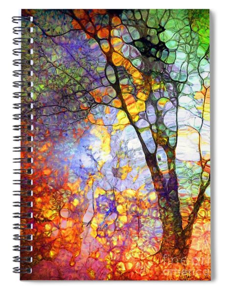 The Simple Tree Spiral Notebook
