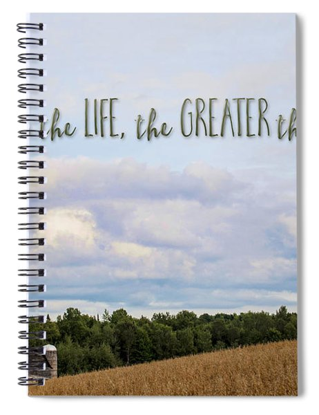 The Simpler Life Spiral Notebook