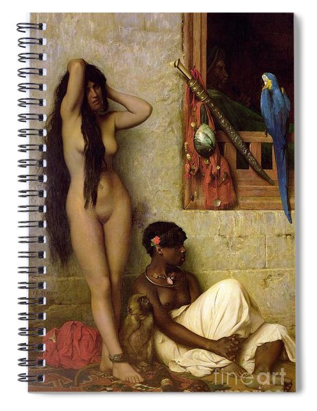 The Slave For Sale Spiral Notebook