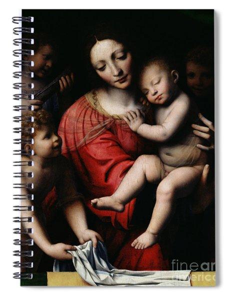 The Sleeping Christ Spiral Notebook