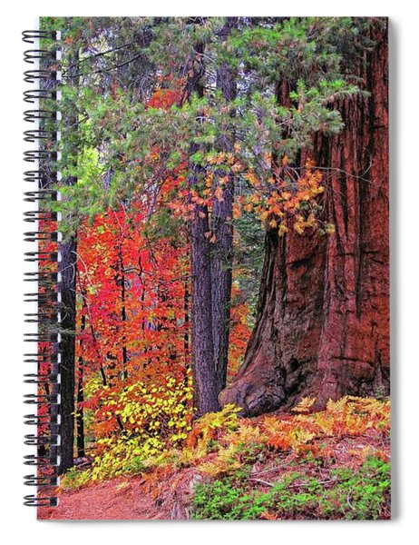 The Small And The Mighty Spiral Notebook
