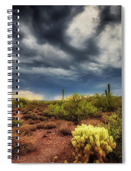 The Smell Of Rain Spiral Notebook
