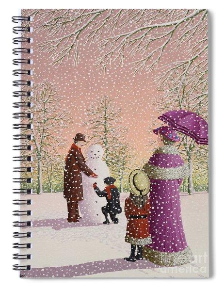 The Snowman Spiral Notebook