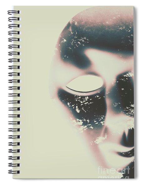 The Solace Of Stillness Spiral Notebook