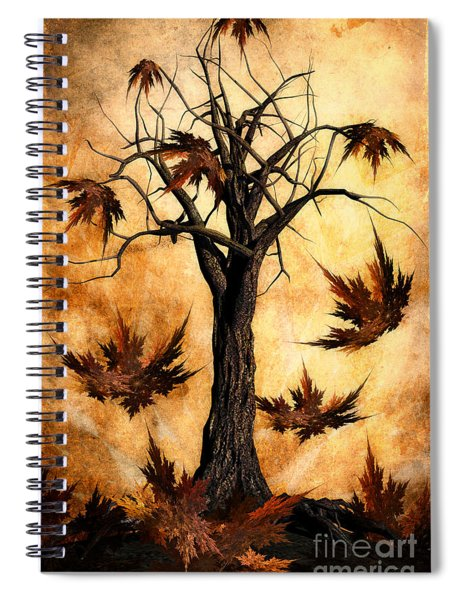 The Song Of Autumn Spiral Notebook