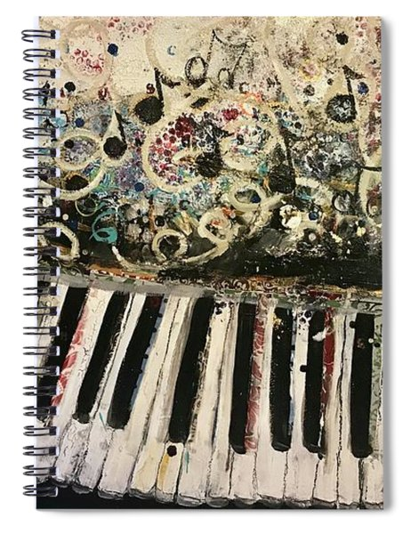 The Songwriter  Spiral Notebook