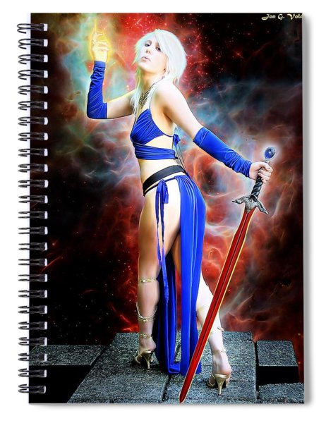 The Sorceress And The Sword Spiral Notebook