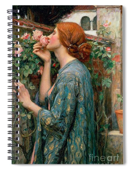 The Soul Of The Rose Spiral Notebook
