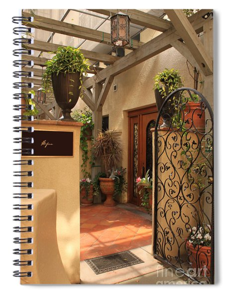 The Spa Spiral Notebook
