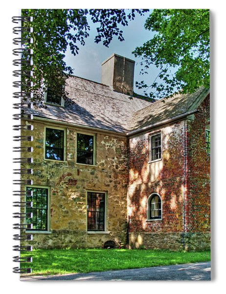The Spencer-peirce-little House In Spring Spiral Notebook