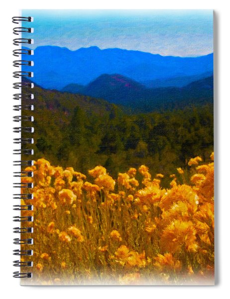 The Spring Mountains Spiral Notebook