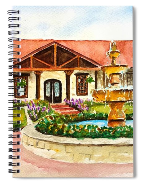 The Springs Houston Spiral Notebook