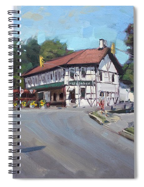 The St George Pub Spiral Notebook