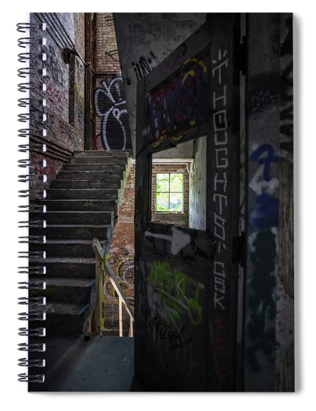 The Stairs Beyond The Door Spiral Notebook
