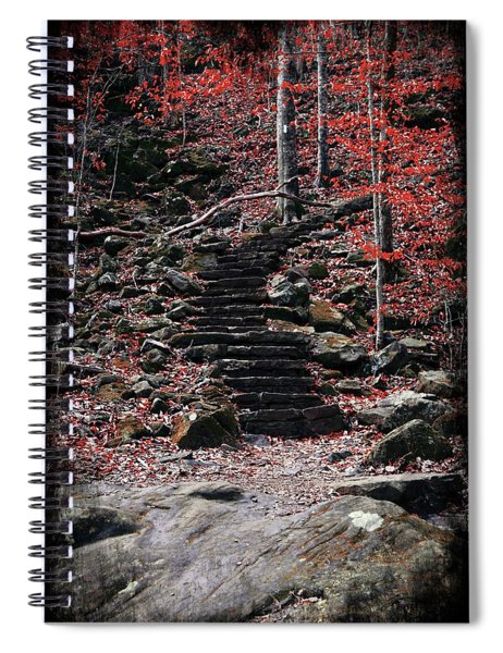 The Stairs We Climb Spiral Notebook