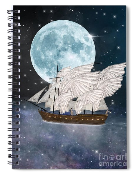 The Star Harvesters Spiral Notebook