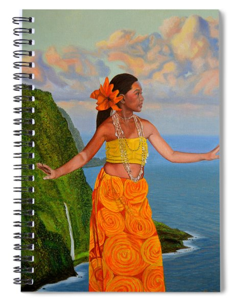 The Star Of The Sea Spiral Notebook