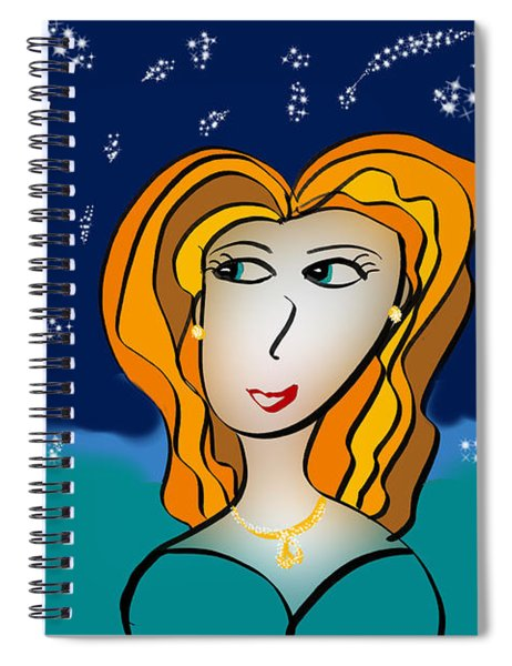 The Stars Look Right Tonight Spiral Notebook