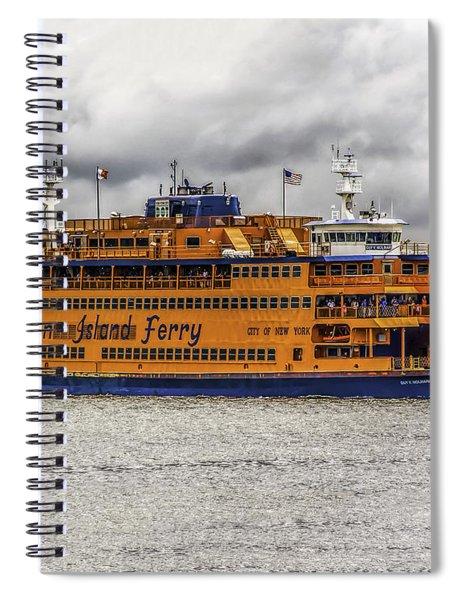 The Staten Island Ferry Spiral Notebook