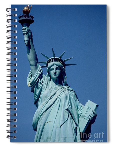 The Statue Of Liberty Spiral Notebook