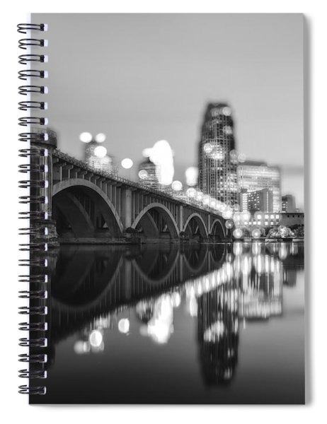 The Central Avenue Bridge Spiral Notebook