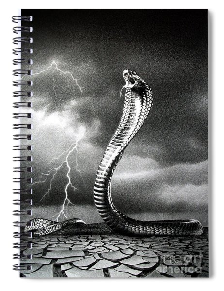 The Storm Is Coming... Spiral Notebook