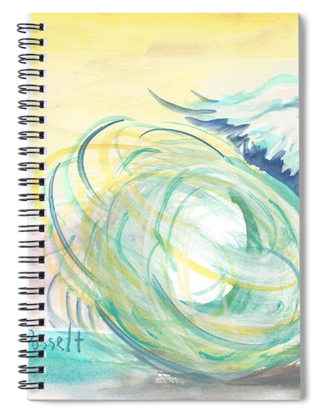 The Storm Within Spiral Notebook