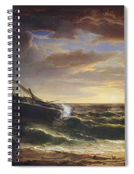The Stranded Ship Spiral Notebook
