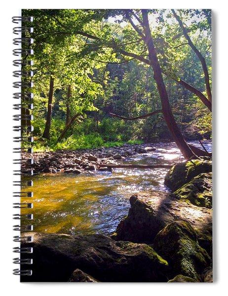 The Stream Spiral Notebook