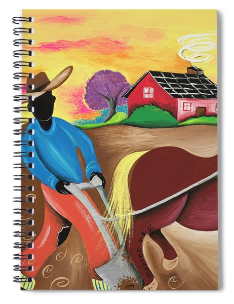The Stride Of Pride Spiral Notebook
