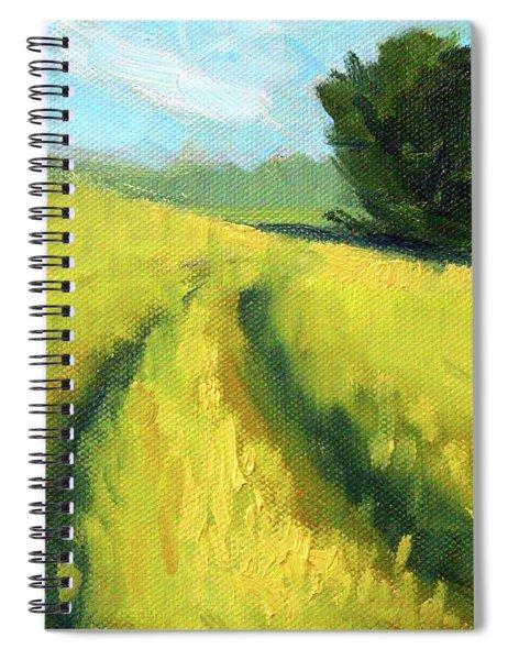 The Summer Field Spiral Notebook