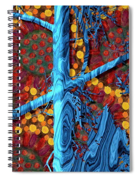 The Summer We Went To Blue Tree Spiral Notebook